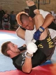 Markus Schmidt BJJ bei MMA-Fight