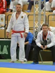Markus Schmidt BJJ vor einem Einsatz für den DJJV Nationalkader
